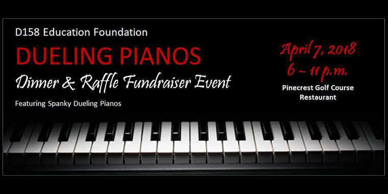 Education Foundation Dueling Pianos, Dinner, and Raffle April 7