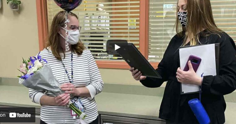 Video: Huntley 158 Education Foundation Surprise Squad Visits Staff Honorees