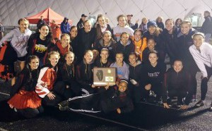 HHS Girls Track Sectional Champions 2015
