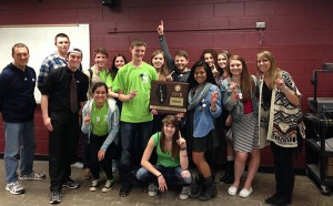 Journalism Sectional Champs 2015