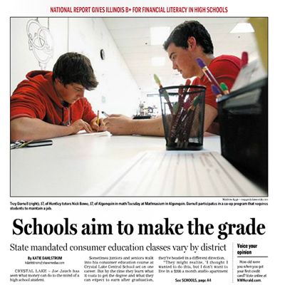 Northwest Herald Personal Finance Cover