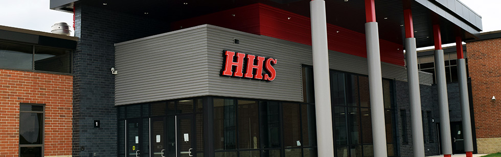 HHS Front Entrance