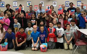 Conley and HHS Military Students