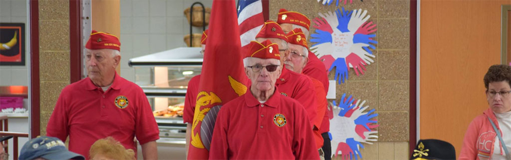 Marlowe Veterans Recognition