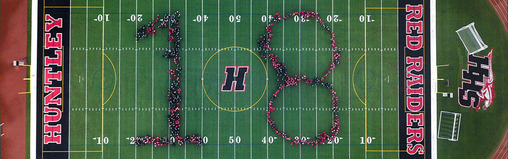 HHS Class of 2018 Aerial Banner