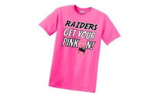 HHS Pink Out T-Shirt Sale